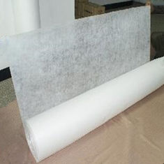 White Cold Water Soluble Non Woven Fabric For Embroidery Backing / Interlining