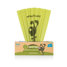 Efficient Biodegradable Poop Bags , Compostable Disposable Dog Waste Bags