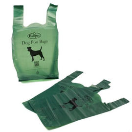 100% Biodegradable Poop Bags / Compostable Pet Waste Bags Custom Service Acceptable