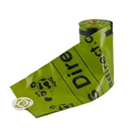 PLA Biodegradable Poop Bags Pet Dog Use With Dispenser Custom Logo Available