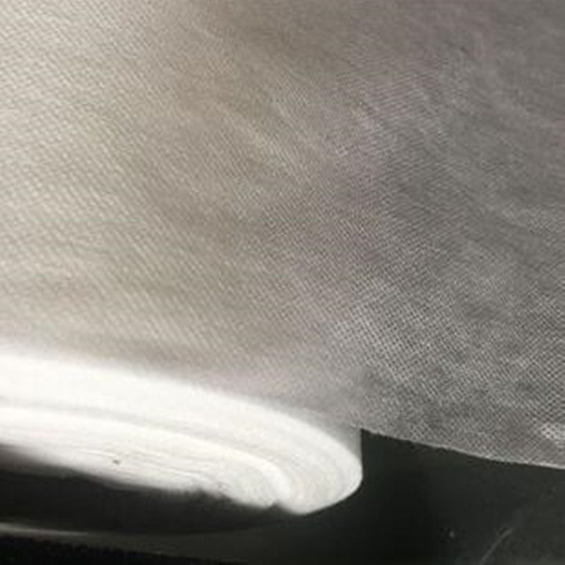 PVA Cold Water Soluble Non Woven Fabric Embossed Pattern For Embroidery supplier